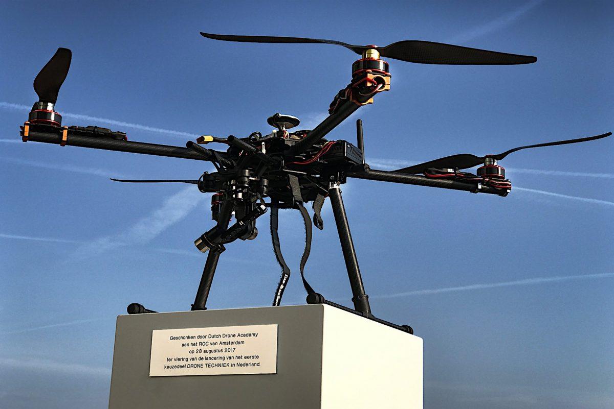 drone rocva student