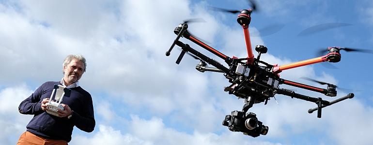 Keuzedelen over drones gaan sky-high